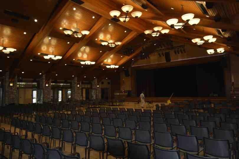 Event Center Inside